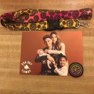 The Ace Family Lanyard and Popsocket top bundle
